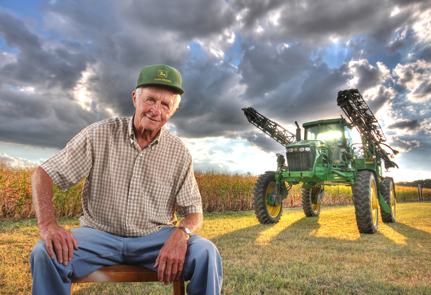 Bruce Crippen, Jerry Shaw John Deere Tractor, 2010. Color photograph, 11 x 14 inches. Courtesy of the artist
