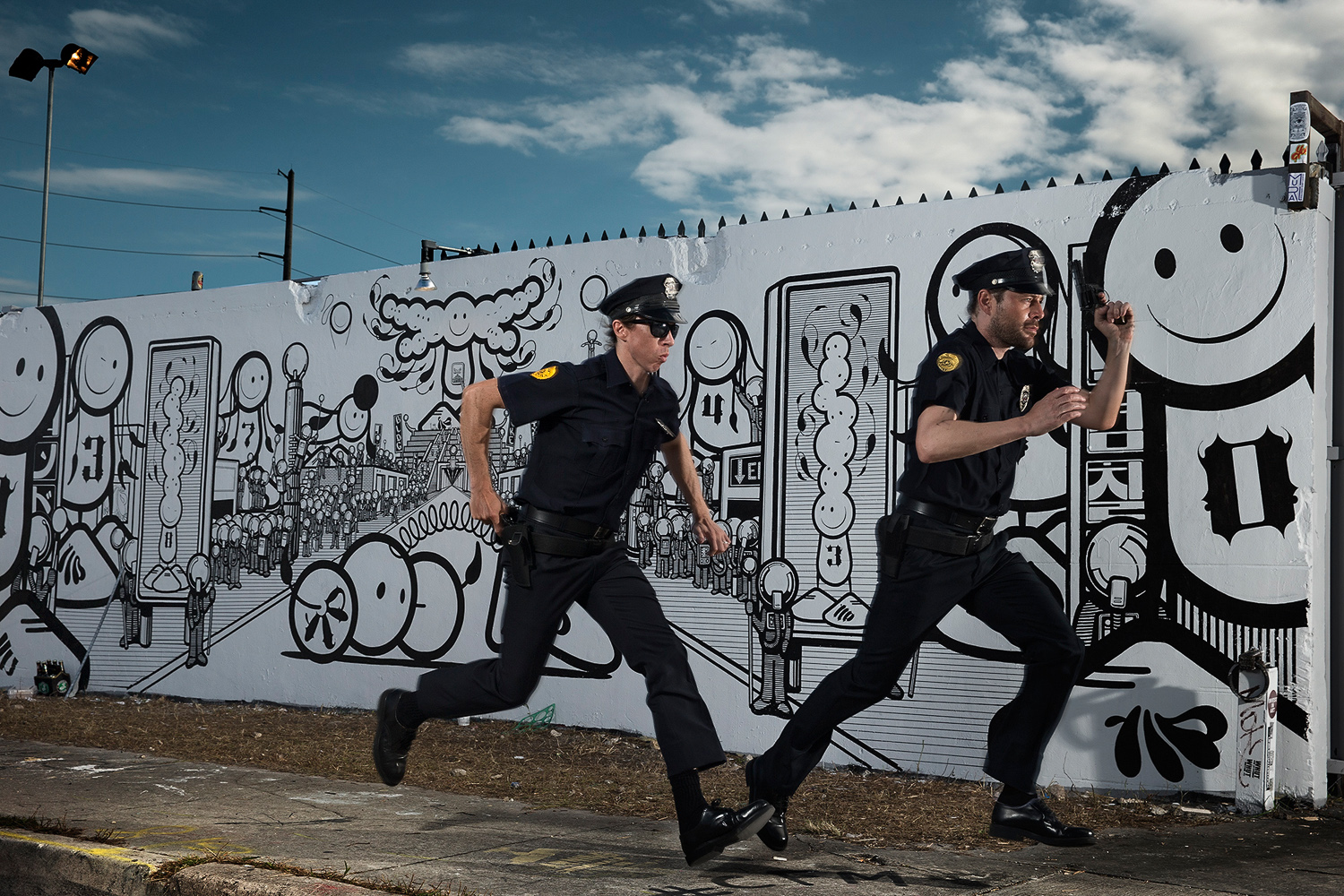 Søren Solkær, The London Police (England), Miami 2013, 2013. C-print, 24 x 36 inches. Courtesy of the artist
